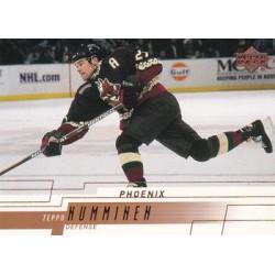 2000-01 Upper Deck c. 135 Teppo Numminen PHX