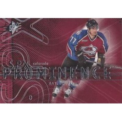 2000-01 SPx Prominence c. 084 Ray Bourque COL