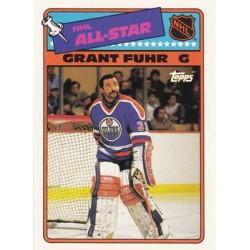 1988-99 Topps Stickers Insert c. 06 Grant Fuhr EDM