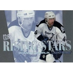 1995-96 Ultra Rising Stars c. 03of10 Roman Hamrlik TBL