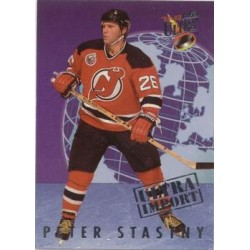 1992-93 Ultra Import c. 24of25 Peter Stastny NJD