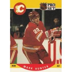 1990-91 Pro Set c. 422 Mark Hunter CGY