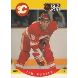 1990-91 Pro Set c. 423 Tim Hunter CGY