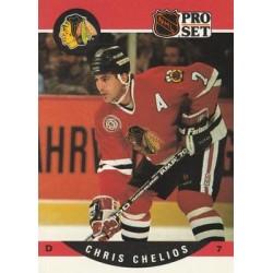 1990-91 Pro Set c. 427 Chris Chelios CHI