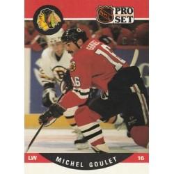 1990-91 Pro Set c. 430 Michel Goulet CHI