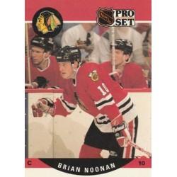 1990-91 Pro Set c. 433 Brian Noonan CHI