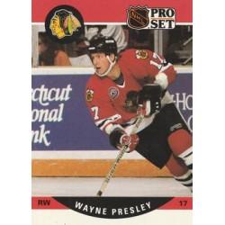 1990-91 Pro Set c. 434 Wayne Presley CHI