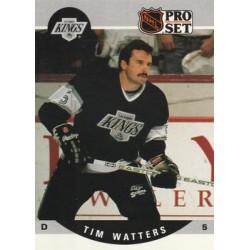 1990-91 Pro Set c. 458 Tim Watters LAK