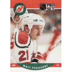 1990-91 Pro Set c. 479 Walt Poddubny NJD