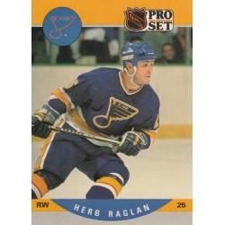 1990-91 Pro Set c. 525 Herb Raglan STL
