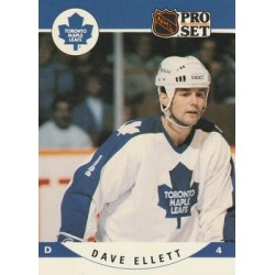 1990-91 Pro Set c. 532 Dave Ellett TOR