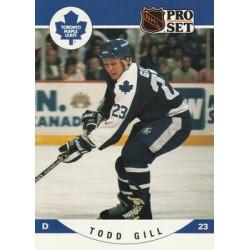 1990-91 Pro Set c. 534 Todd Gill TOR