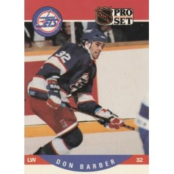 1990-91 Pro Set c. 558 Don Barber WIN
