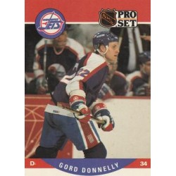 1990-91 Pro Set c. 560 Gord Donnelly WIN