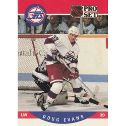 1990-91 Pro Set c. 561 Doug Evans WIN