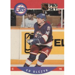 1990-91 Pro Set c. 563 Ed Olczyk WIN