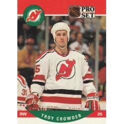 1990-91 Pro Set c. 620 Troy Crowder NJD