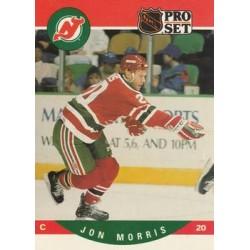 1990-91 Pro Set c. 621 Jon Morris NJD