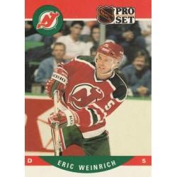 1990-91 Pro Set c. 622 Eric Weinrich NJD