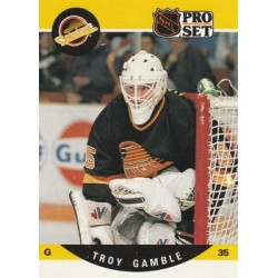 1990-91 Pro Set c. 641 Troy Gamble VAN