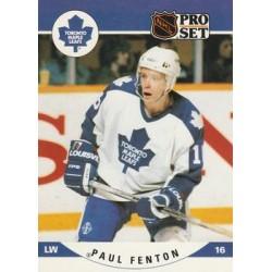 1990-91 Pro Set c. 533 Paul Fenton TOR