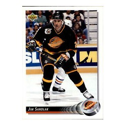 1992-93 Upper Deck c. 120 Sandlak Jim VAN
