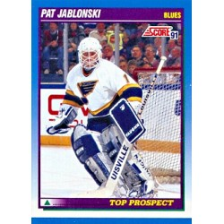 1991-92 Score Canadian English c. 359 Jablonski Pat STL