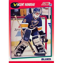 1991-92 Score Canadian English c. 023 Riendeau Vincent STL