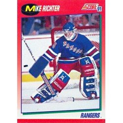 1991-92 Score Canadian English (Red) c. 120 Richter Mike NYR