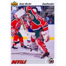 1991-92 Upper Deck c. 183 Burke Sean NJD