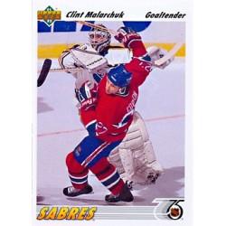 1991-92 Upper Deck c. 368 Malarchuk Clint BUF