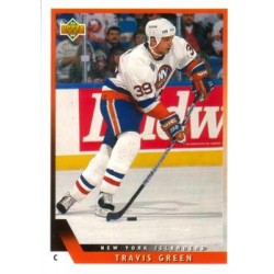 1993-94 Upper Deck c. 059 Green Travis NYI