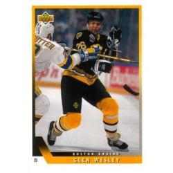 1993-94 Upper Deck c. 208 Wesley Glen BOS