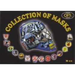 2002-03 OFS Plus Collection of Masks Falta Pavel / Kotatko Jan c. M11M12