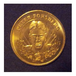 1996-97 Pinnacle Mint Coin Brass (mince) c. 006 Peter Forsberg COL