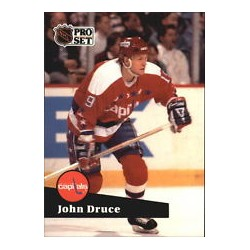1991-92 Pro Set French c. 251 Druce John WSH