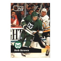 1991-92 Pro Set French c. 080 Brown Rob HFD