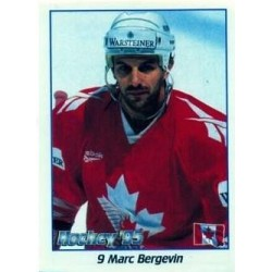 1995-96 Panini Stickers Bergevin Marc c. 9 CAN