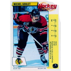 1992-93 Panini Stickers FRENCH c. 006 Goulet Michel CHI