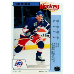 1992-93 Panini Stickers FRENCH c. 057 Murray Troy WIN