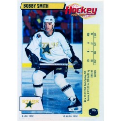 1992-93 Panini Stickers FRENCH c. 096 Smith Bobby DAL