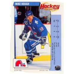1992-93 Panini Stickers FRENCH c. 211 Hough Mike QUE