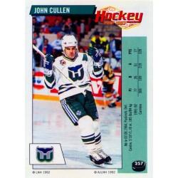 1992-93 Panini Stickers FRENCH c. 257 Cullen John HFD