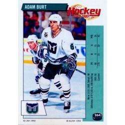 1992-93 Panini Stickers FRENCH c. 264 Burt Adam HFD