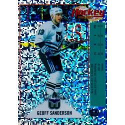 1992-93 Panini Stickers FRENCH c. V Sanderson Geoff HFD