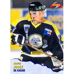1999-00 Czech Score c. 070 Nosek Martin Ostatni