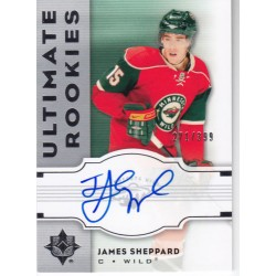 2007-08 Ultimate Rookies c.144 Sheppard James Minnesota Wild MIN