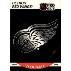 1990-91 Pro Set Logos Detroit Red Wings c.570 DET