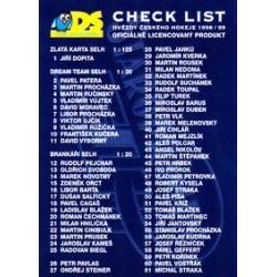 1998-99 DS c. 125 Checklist