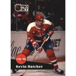 1991-92 Pro Set French c. 249 Hatcher Kevin WSH